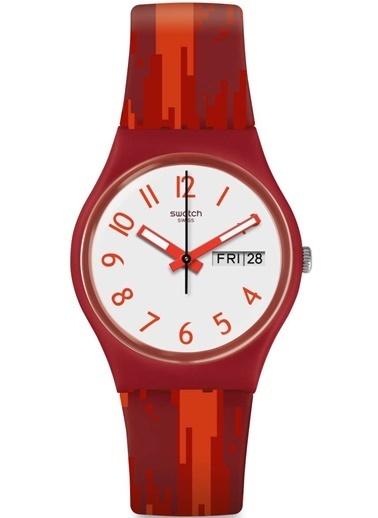 Swatch (Ø 34 MM) Kırmızı Bayan Saati GR711 Kırmızı